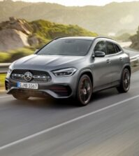 Mercedes-Benz GLA, Edition1, AMG Line, mountaingrau magno   Mercedes-Benz GLA, Edition1, AMG Line, mountain grey MAGNO