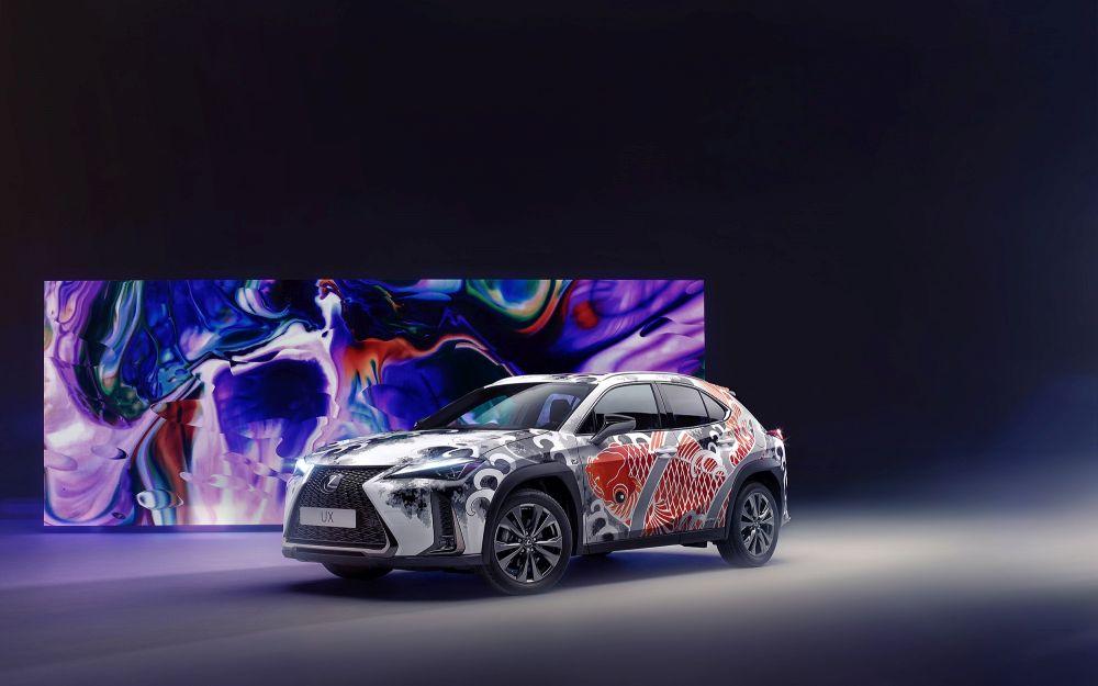 Lexus dövmeli UX (1)