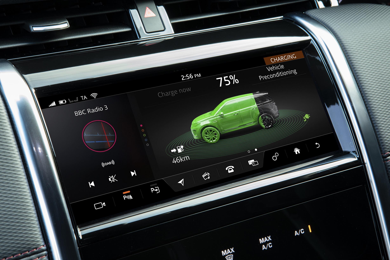 Yeni Discovery Sport Plug-In Hybrid Detay